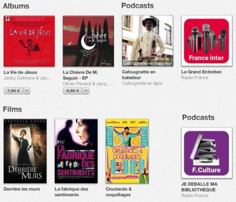 Bonnaffé, albums, films et podcasts