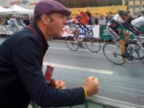 Bonnaffé aux courses cyclistes