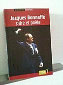 Jacques Bonnaffé pitre et poète (jaquette livre)