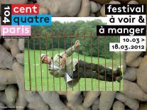 Affiche de l'annonce du festival avec Jacques Bonnaffé – photo Brigitte de Malau