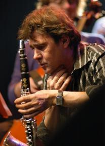 Louis Sclavis et sa clarinette
